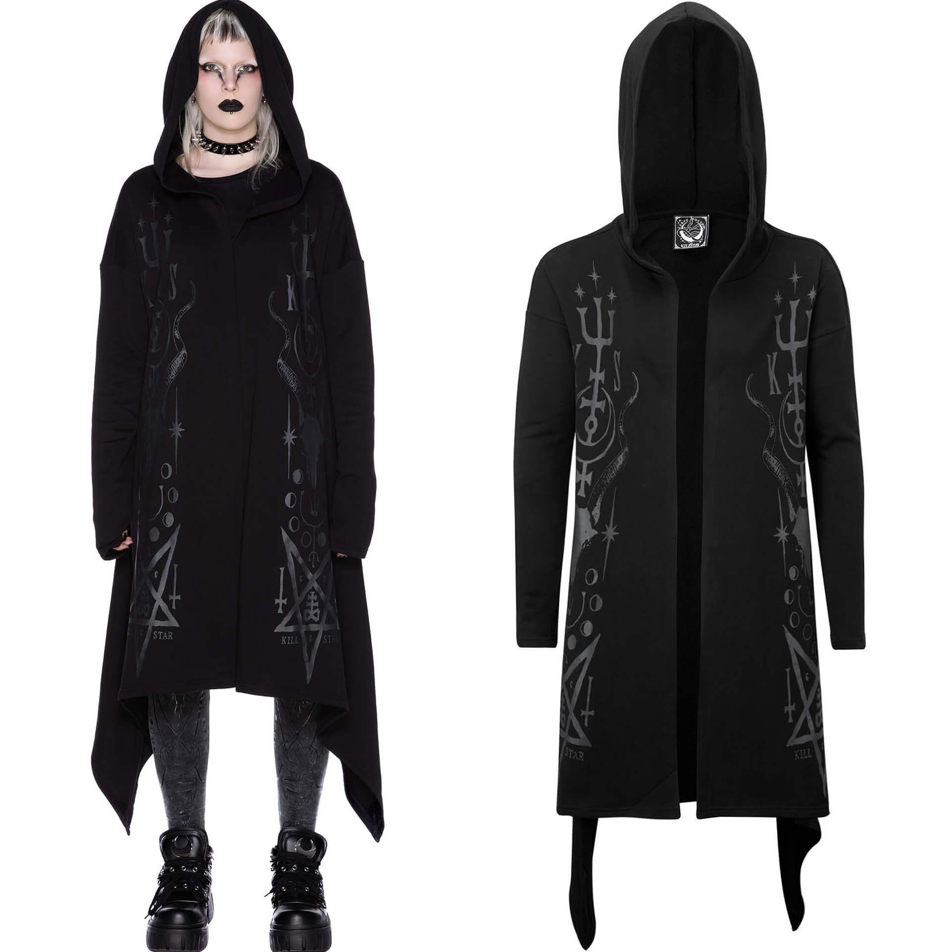 Town Scryer Hooded Cardigan