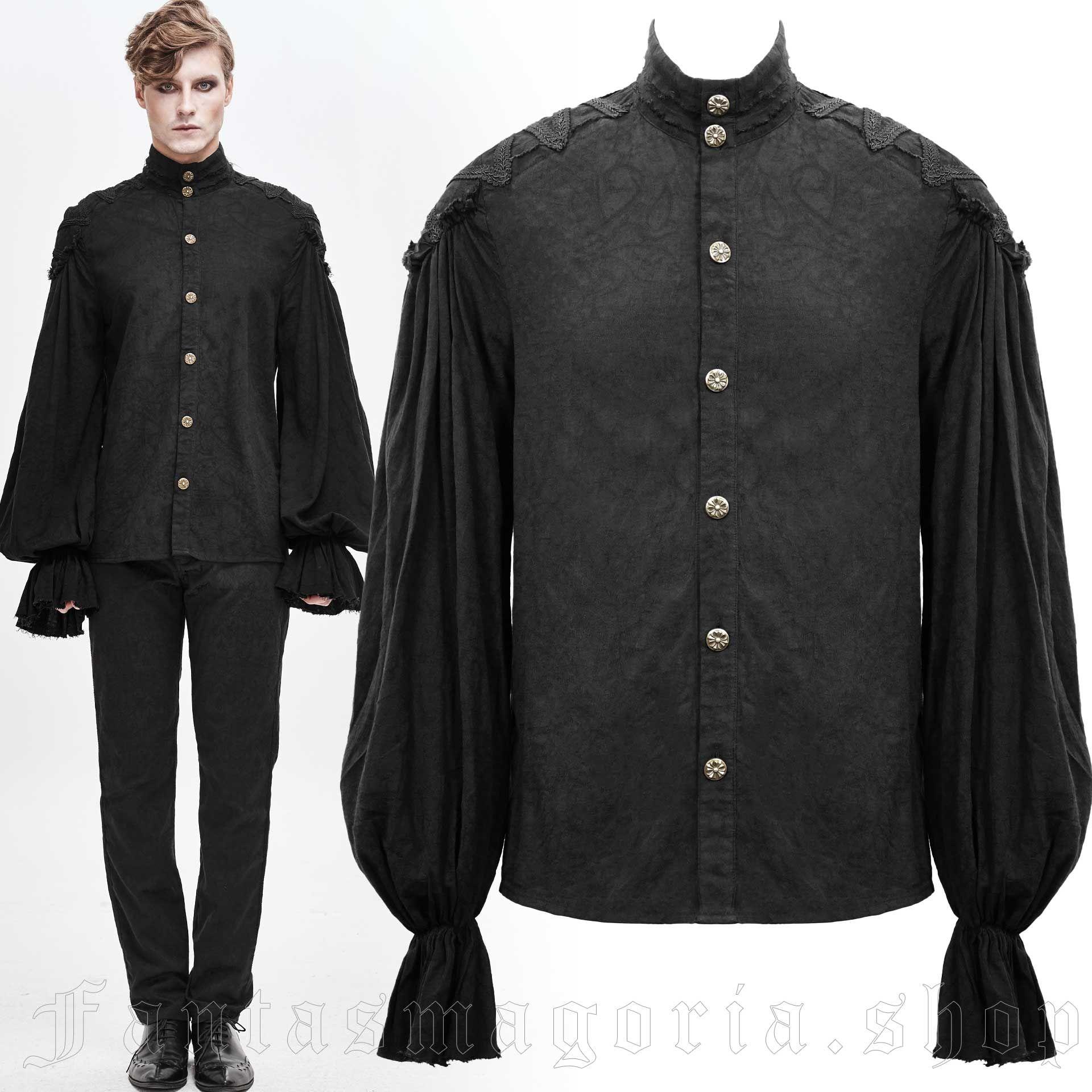 Pierrot Black Shirt