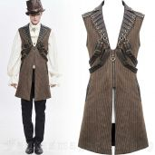 men's Mad Hatter Waistcoat by DEVIL FASHION brand, code: WT051