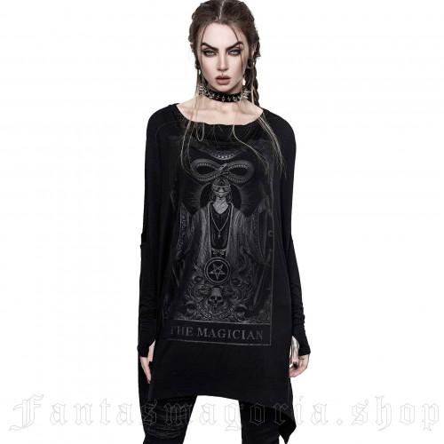 Killstar gothique goth occultisme Mesh velours MAXI-Haunt Me Damask Lacets