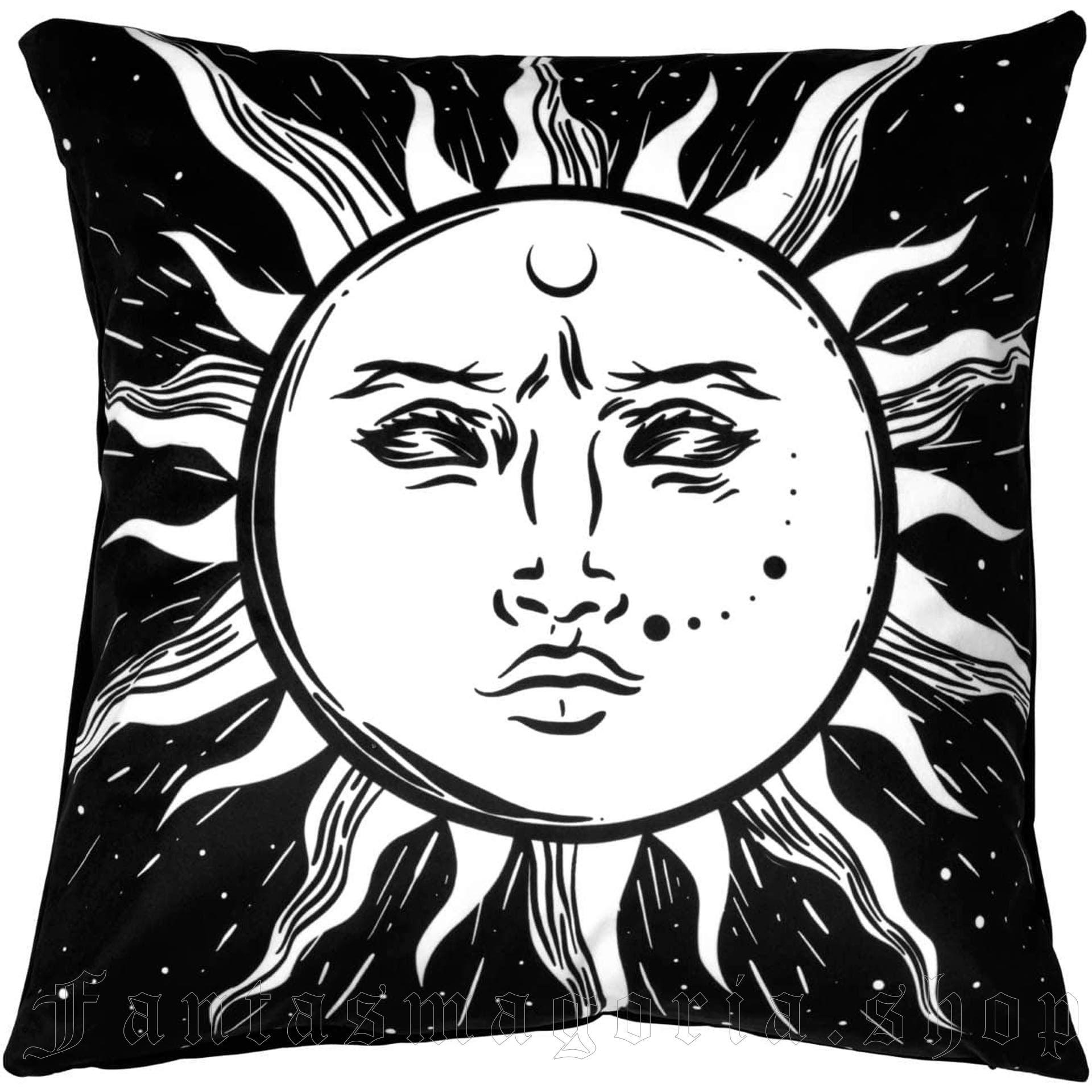 Vintage Sun Cushion Cover