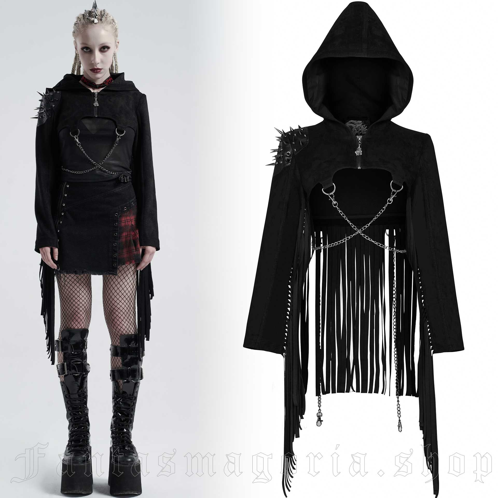 Therion Black Shrug