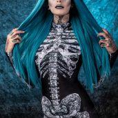women's Diamond Skeleton Bodysuit by BADINKA brand, code: BAD-BS-4