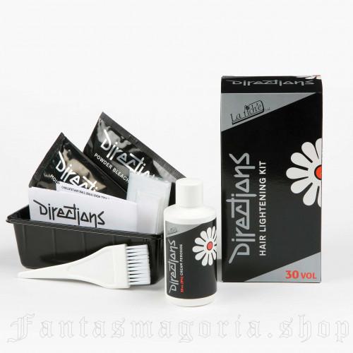 Hair Lightening Kit 30 Volume by DIRECTIONS brand, code: BLEACH-KIT-30vol