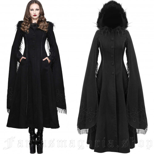 women's Swansea Black Coat by DEVIL FASHION brand, code: CT02401