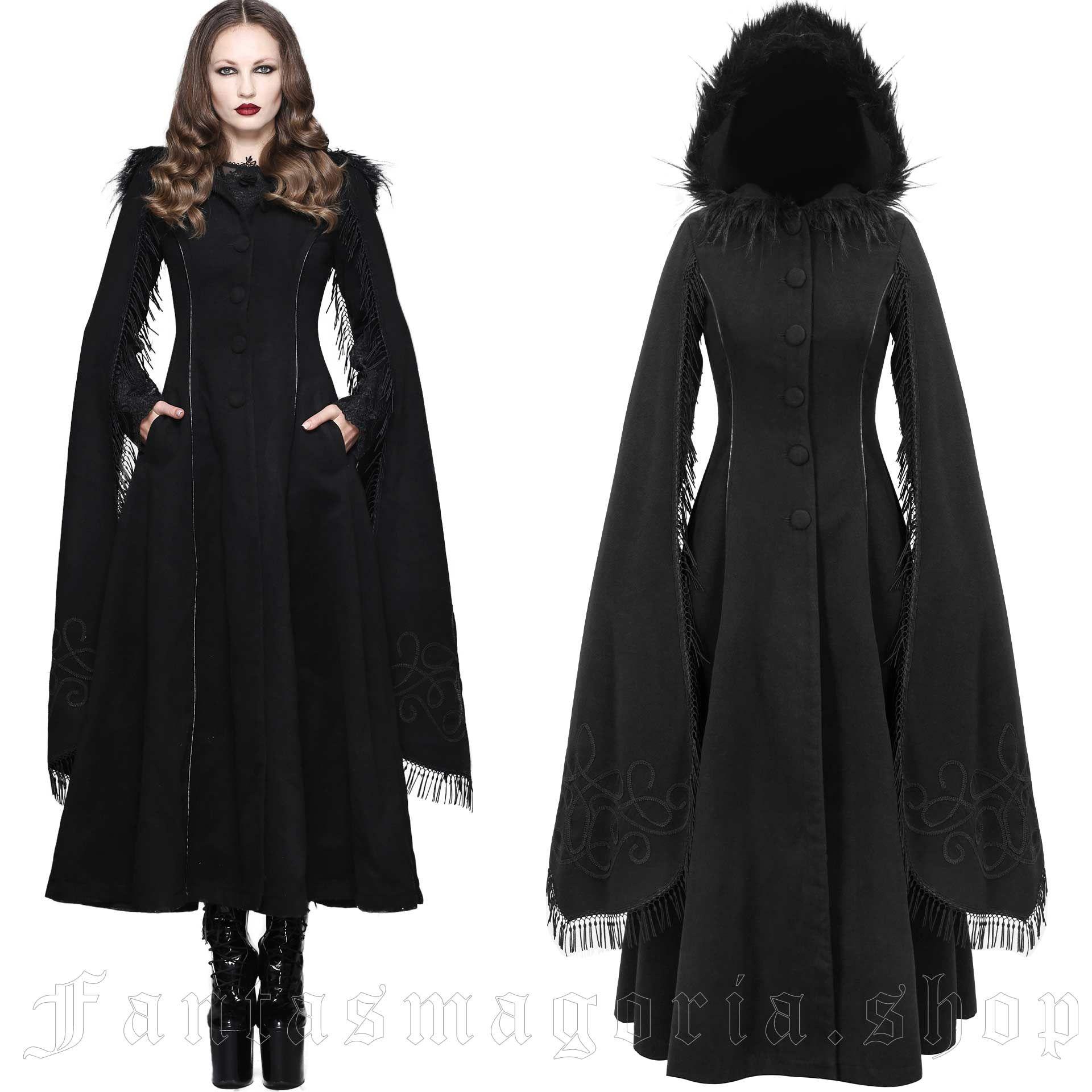 women's Swansea Black Coat by DEVIL FASHION brand, code: CT02401