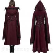 women's Swansea Red Coat by DEVIL FASHION brand, code: CT02402