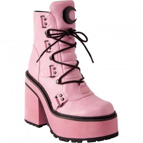 Broom Rider Pink Boots