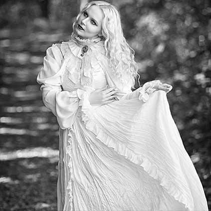 White Gothic Clothing